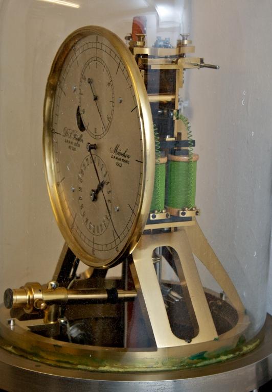 Uhr im Keller