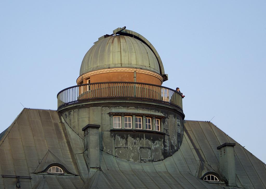 Kuppel der Sternwarte Traunstein