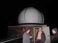 Blick auf die Kuppel von der Dachterasse