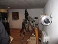 Teleskopraum unter der Kuppel