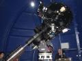 Deutsche Montierung des Teleskops