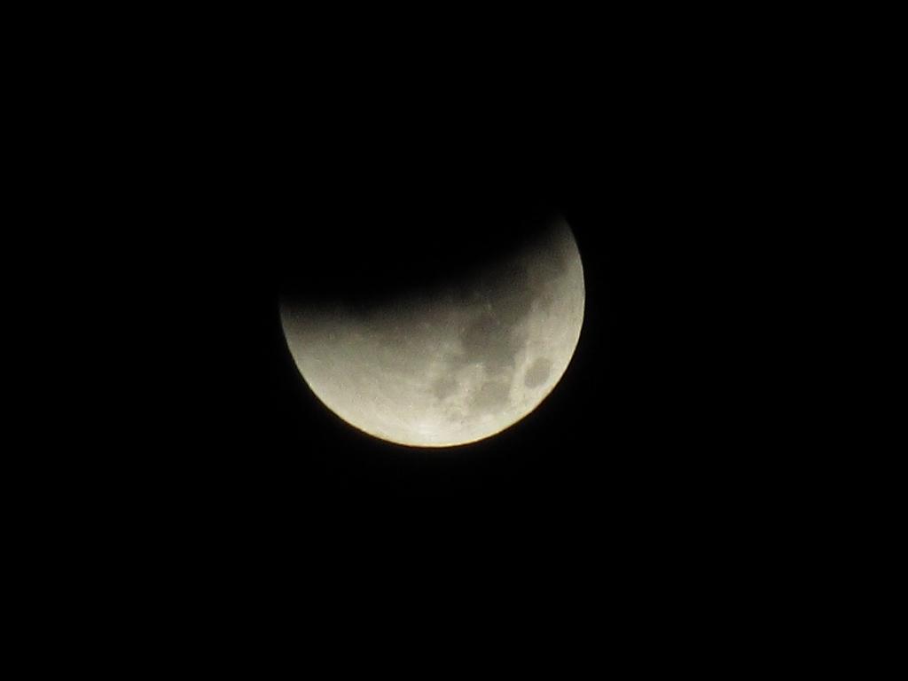 Mondfinsternis vom 28.9.2015