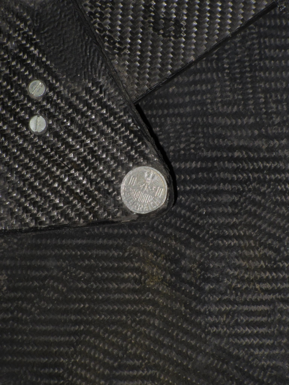 Österreichische 10-Groschen-Münze in der Spiegellagerung