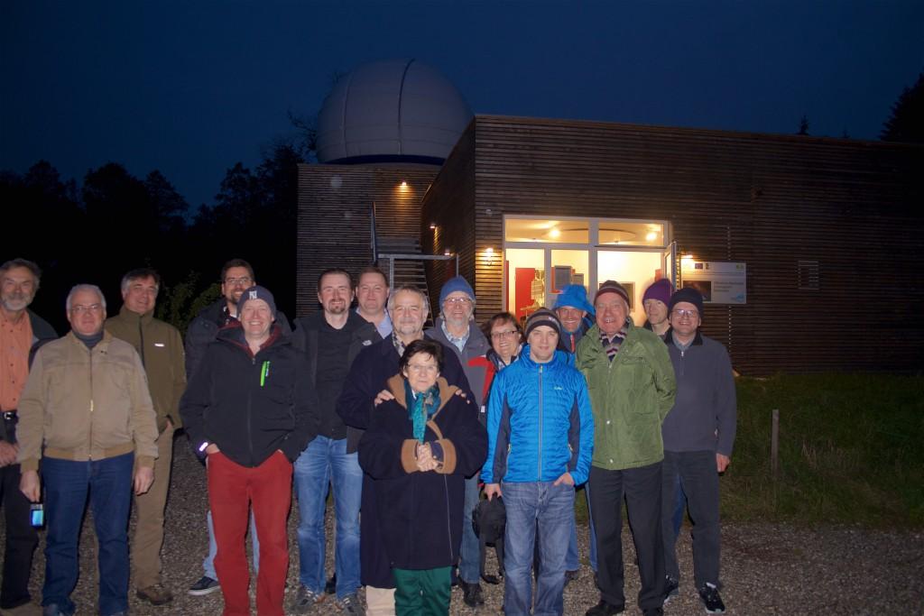 Besuch der Isartal-Sternwarte 17. Okt 2015
