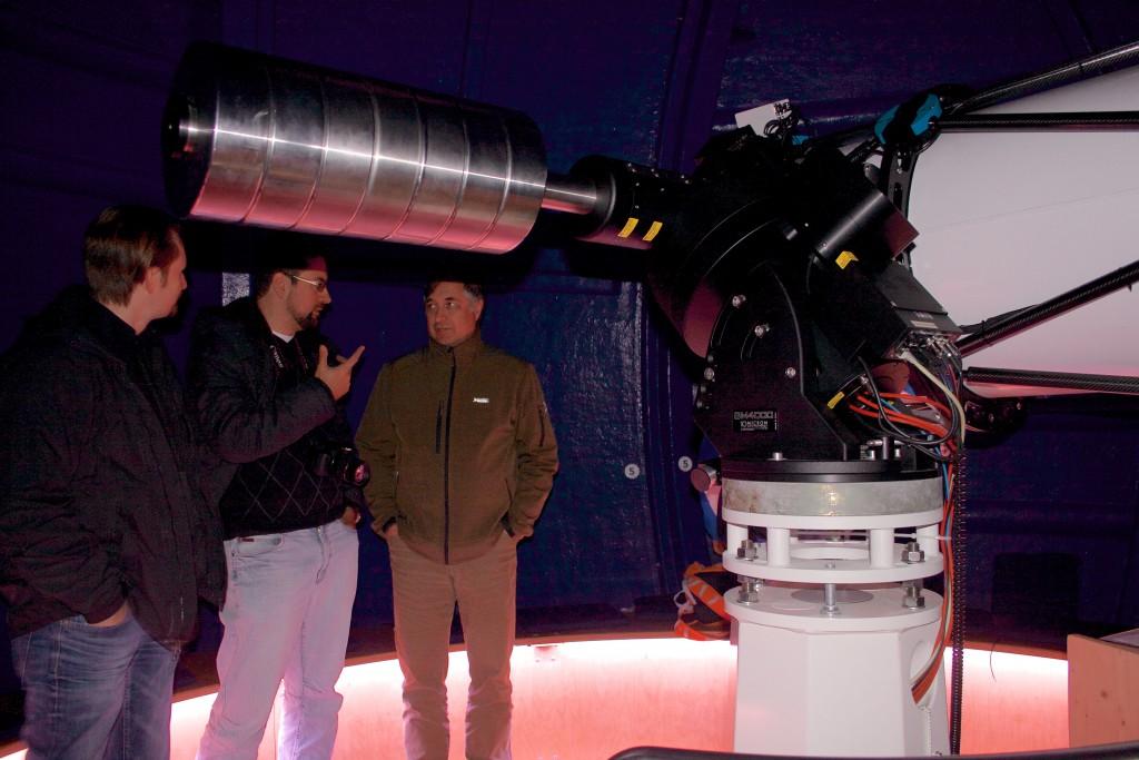 Teleskop der Isartalsternwarte mit 61 cm Durchmesser